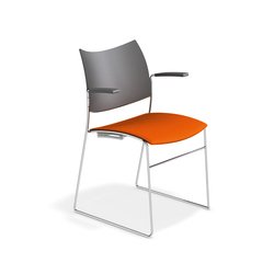 Curvy 1289/10 | Visitors chairs / Side chairs | Casala