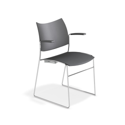 Curvy 1288/10 | Visitors chairs / Side chairs | Casala