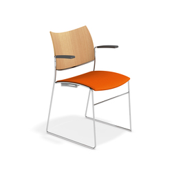 Curvy 3289/10 | Visitors chairs / Side chairs | Casala