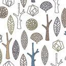 Forest 2400   Curtain fabrics   Svensson Markspelle