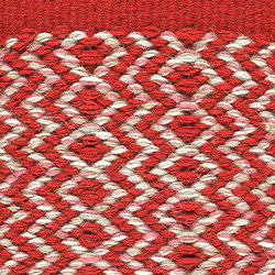Ingrid Red-White 180 | Tapis / Tapis design | Kasthall
