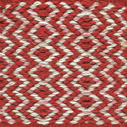 Ingrid Icon | Red-White 180 | Rugs | Kasthall