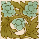 Art Nouveau wall tile F48 | Azulejos de pared | Golem GmbH