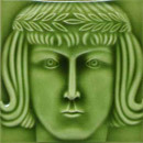 Art Nouveau wall tile F43b.11 | Piastrelle per pareti | Golem GmbH