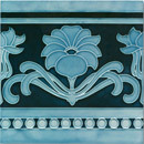 Art Nouveau wall tile F70.V1 | Carrelage mural | Golem GmbH