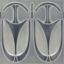 Art Nouveau wall tile F75 | Azulejos de pared | Golem GmbH