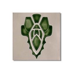 Art Nouveau wall tile F7a | Wall tiles | Golem GmbH