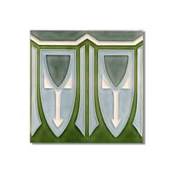 Art Nouveau wall tile F56 | Azulejos de pared | Golem GmbH