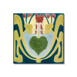 Art Nouveau wall tile F60.V3 | Azulejos de pared | Golem GmbH