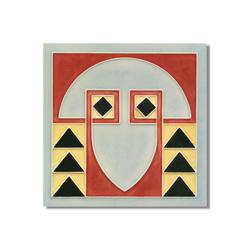 Art Nouveau wall tile F61.V1 | Azulejos de pared | Golem GmbH