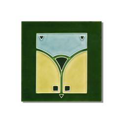 Art Nouveau wall tile F65.V1 | Azulejos de pared | Golem GmbH