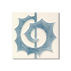 Art Nouveau wall tile F53b.V1 | Wall tiles | Golem GmbH