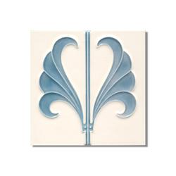 Art Nouveau wall tile F53c.V1 | Azulejos de pared | Golem GmbH