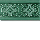 Art Nouveau border B3.43 | Azulejos de pared | Golem GmbH