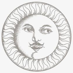 Soli e Lune Platino 3B | Wandfliesen | Ceramica Bardelli