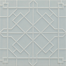 Modern fretwork 11x11 | Carrelage mural | Ann Sacks