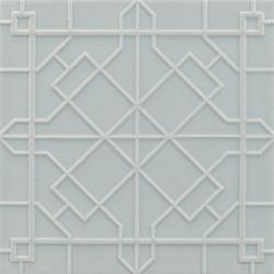 Modern fretwork 11x11 | Wall tiles | Ann Sacks