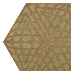 Weave hexagon 30x35 | Concrete / cement flooring | Ann Sacks