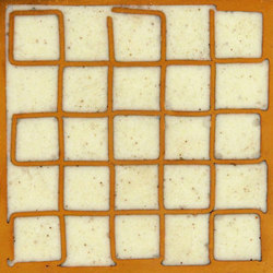 Mosaic square 5x5 | Dalles metalliques | Ann Sacks