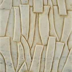 Carved Stone Kuai 20x40cm | Wall tiles | Ann Sacks