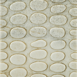 Carved Stone Pebble 20x40cm | Dalles en pierre naturelle | Ann Sacks