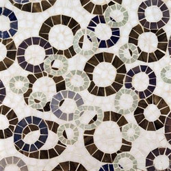 Ring Toss mosaic | Mosaicos de piedra natural | Ann Sacks