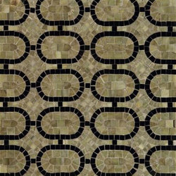 Oval Link mosaic | Natural stone mosaics | Ann Sacks