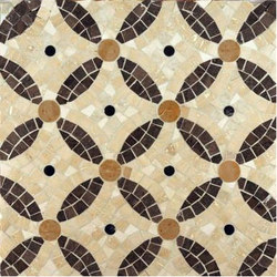Cartman mosaic | Natural stone mosaics | Ann Sacks