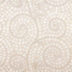 Windsong mosaic | Mosaicos de piedra natural | Ann Sacks