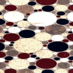 Oval Blend mosaic | Natural stone mosaics | Ann Sacks