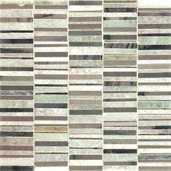 Matchsticks mosaic | Mosaicos de piedra natural | Ann Sacks