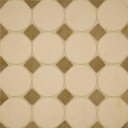 Circle Square 2 mosaic | Mosaicos de piedra natural | Ann Sacks