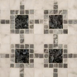 Square Link mosaic | Naturstein Mosaike | Ann Sacks
