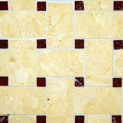 Basketweave 2 mosaic | Natural stone mosaics | Ann Sacks