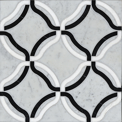 Kelly mosaic | Natural stone mosaics | Ann Sacks