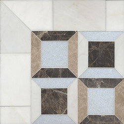 Lauren mosaic | Natural stone mosaics | Ann Sacks