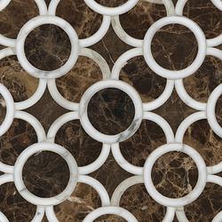 Montgomery 1 mosaic | Mosaicos de piedra natural | Ann Sacks