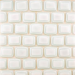 Quilt rectangles glass mosaic | Glass mosaics | Ann Sacks
