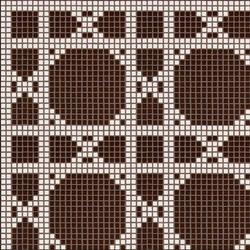 Vienna Marrone mosaic | Mosaicos de suelo | Bisazza