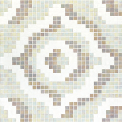 Velvet White mosaic | Mosaïques verre | Bisazza