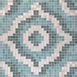 Velvet Grey Oro Bianco mosaic | Mosaïques verre | Bisazza