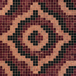 Velvet Brown mosaic | Mosaïques verre | Bisazza