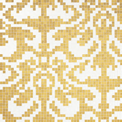 Damasco Oro Giallo mosaic | Glass mosaics | Bisazza