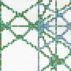 Treillage B mosaic | Glass mosaics | Bisazza