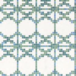 Treillage C mosaic | Mosaïques en verre | Bisazza