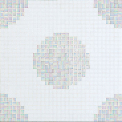 Pois Bianchi mosaic | Glass mosaics | Bisazza