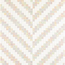 Twill Bianco mosaic | Glass mosaics | Bisazza