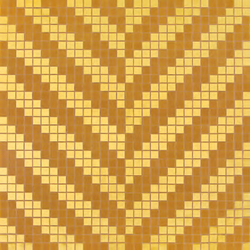 Twill Oro Giallo mosaic | Glass mosaics | Bisazza