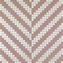 Twill Oro Bianco mosaic | Glass mosaics | Bisazza