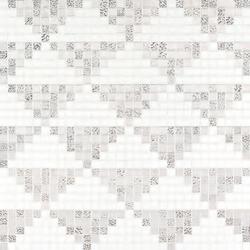 Giza Oro Bianco mosaic | Glass mosaics | Bisazza